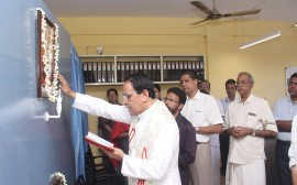 Blessing ceremony of our 4th branch at Chalakudy North by Rev. Fr. Joy Kadambatt on 27-Nov-2019