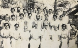 Employees of Welfare Group of Companies along with our founder Mr. P.K. Antony in the year 1982